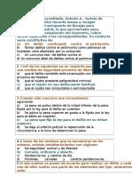 31 Preguntas y respuestas de Derecho Penal I