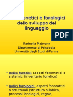sviluppo fonologico