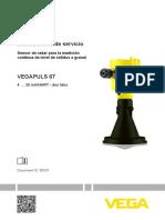 Manual sensor nivel Vegapuls 67.PDF