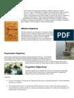 Cognitive Objectives