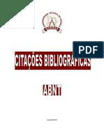 Normas Bibliográficas Abnt