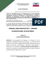 6.- Ordenanza de Construccion Civil