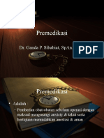 Premedikasi Oleh Dr. Ganda