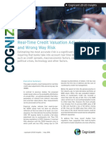 Real-Time Credit Valuation Adjustment and Wrong Way Risk