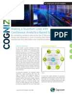 Making a Quantum Leap with Continuous Analytics-Based QA