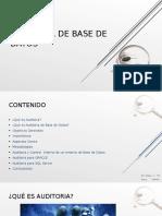 Auditoria de Base de datos.ppt
