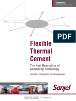 Flexible Thermal Cement