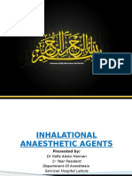 IndividuaL Inhaled Anesthetic Agent