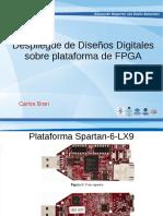 Despliegue de Diseño Sobre FPGA