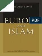 Bernard Lewis - Europe and Islam.pdf