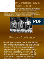 The Potsdam Conferences