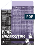 Latest BEAR Necessities WSHS Newsletter