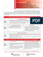 Child Cerebral Pasly Guideline for Clinicians