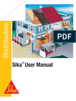 Sika User Manual Pro Retail