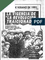 Partido Obrero, La Vigencia de La Revolución Traicionada (1991)
