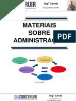 Materiais sobre Administração