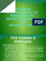 Vigilancia Epidemiológica de Enfermedades Inmunoprevenibles Por