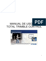 MANUAL Del Software Para Postproceso Trimble Total Control
