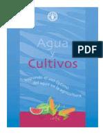 FAO.  Agua y cultivos.pdf