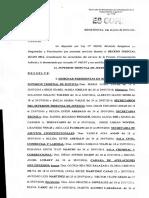 Autoridades en receso julio - Primera Circunscripción - Resolución 1124-16