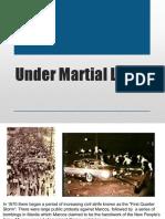 Under Martial Law