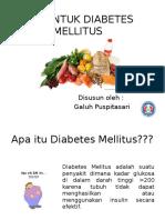 Diit Untuk Diabetes Mellitus Sardjito