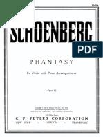 Phantasy, Op. 47 - Violin
