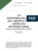 ABORTO Y DIP TP