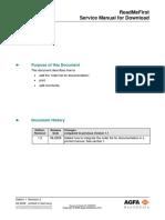 Agfa CR35-CR25 Serice Manual