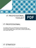 it professional toolkit