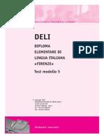 Ail Deli-A2 Test Modello 5