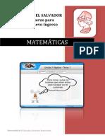 Matemática Tema 1 Versión PDF