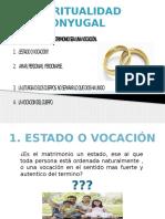 Matrimonio, Estado o Vocacion
