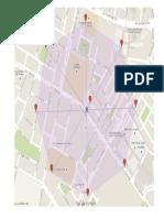 mapa, es un mapa con puntos en google maps