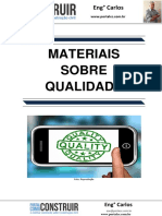 Materiais sobre Qualidade