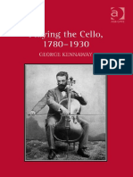 Playing the Cello