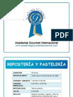 201602_reposteria y Pasteleria