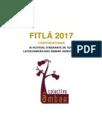 III FITLA 2017 Convocatoria