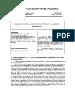 Borrador Acta Pleno 25-07-2015