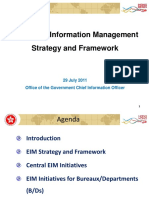 EIM Strategy and Framework