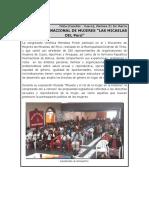 Audiencias y Foros Cusco - Verónika Mendoza