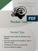 Rocket Toss Updated