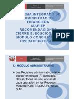1_recomendaciones -Modulo Conciliacion Operaciones Siaf