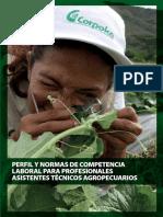 Corpoica - Perfil y Normas de Competencia Laboral Para Profesionales Asistentes Técnicos Agropecuarios