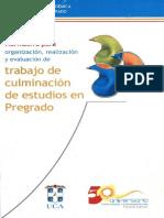 Normativa Para FCE