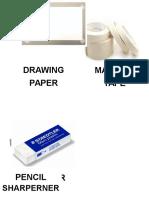Drafting Materials