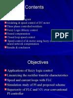 FLC&NN Control of DC Motor...Ppt