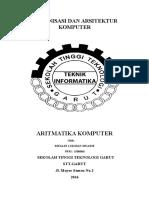 Aritmatika Komputer Makalah Rifaldi