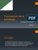 PEM 6 Formulación de La Estrategia-CRECIMIENTO