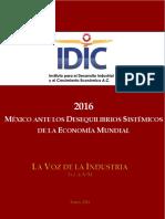 VozIndustria 20160111 Vol 04 Num 54 Mexico Ante Los Desequilibrios de La Economia Mundial 2016